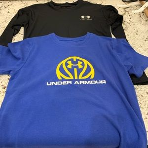 Boys Under Armour Youth Large set of 2